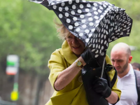 Brace yourself for strong winds and rain